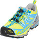 La Sportiva Falkon Low Running Shoes Children yellow/blue